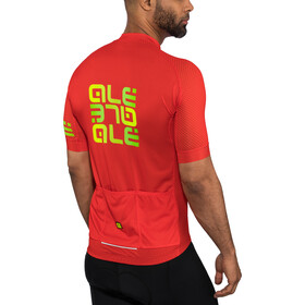 Alé Cycling Solid Mirror SS Jersey Herren red